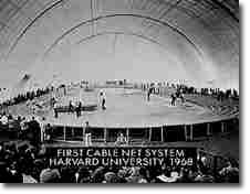Harvard Track and Field Dome Interior
