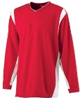 Augusta Long Sleeve Wicking Basketball Shooting Shirt