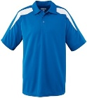 Augusta Wicking Color Block Coaches Polo
